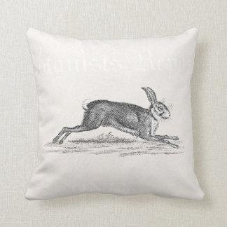 Ejemplo del conejo de conejito de las liebres del cojín