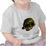 Ejemplo del cráneo humano camisetas
