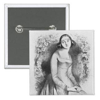 ejemplo del 'd'Heloise de Lettres y Pin Cuadrada 5 Cm