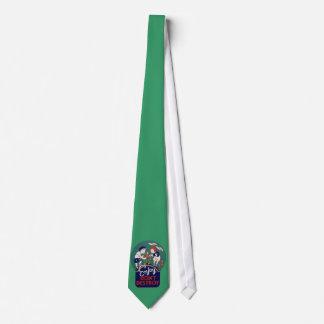 Ejemplo del Día de la Tierra del vintage Corbata Personalizada