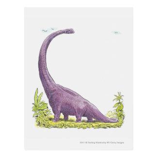 Ejemplo del dinosaurio de Giraffatitan Tarjeta Postal