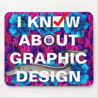 ejemplo del diseño gráfico alfombrilla de ratón