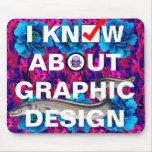 ejemplo del diseño gráfico tapetes de ratón