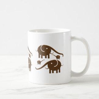 Ejemplo del elefante de Brown Taza De Café