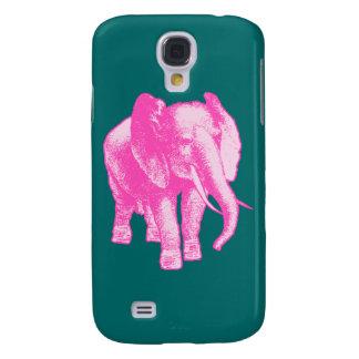 Ejemplo del elefante rosado samsung galaxy s4 cover