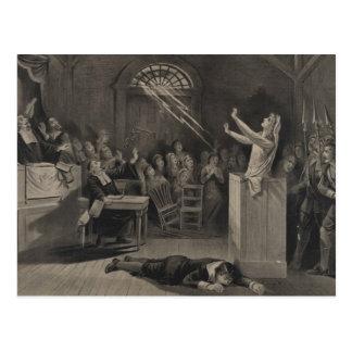 Ejemplo del ensayo de la bruja de Salem Postales
