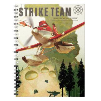 Ejemplo del equipo de la huelga libro de apuntes