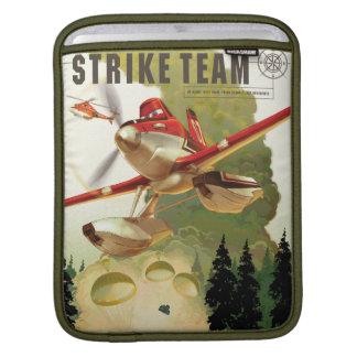 Ejemplo del equipo de la huelga mangas de iPad
