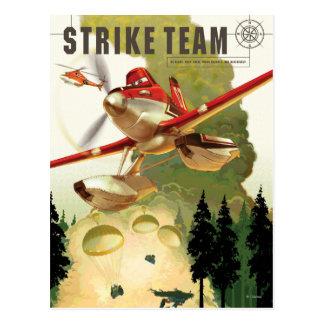 Ejemplo del equipo de la huelga tarjeta postal
