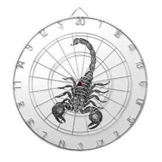Ejemplo del escorpión de los 1800s del vintage -