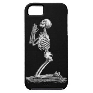Ejemplo del esqueleto de la anatomía iPhone 5 carcasa