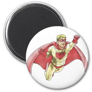 Ejemplo del estilo de Comicbook del super héroe Iman