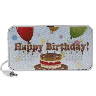 Ejemplo del feliz cumpleaños sistema altavoz