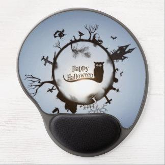Ejemplo del feliz Halloween Alfombrillas Con Gel