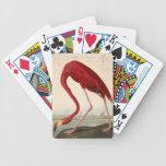 Ejemplo del flamenco del arte del vintage baraja cartas de poker
