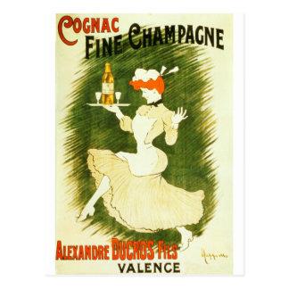 Ejemplo del francés de Leonetto Cappiello Champán Postal
