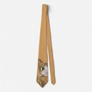 Ejemplo del gato de Brown Corbatas