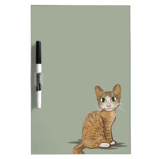 Ejemplo del gato de Brown Pizarra