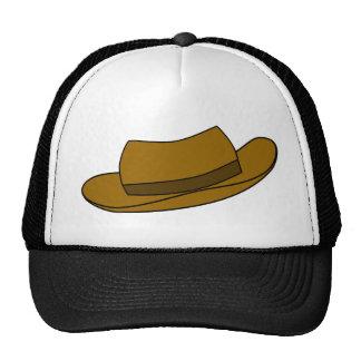 Ejemplo del gorra de Brown. En blanco