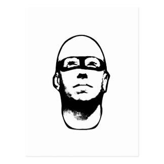 Ejemplo del héroe del Baldhead Postales