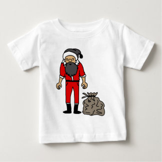 Ejemplo del icono de Santa T-shirts