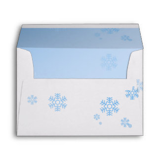 Ejemplo del invierno de los copos de nieve - sobre