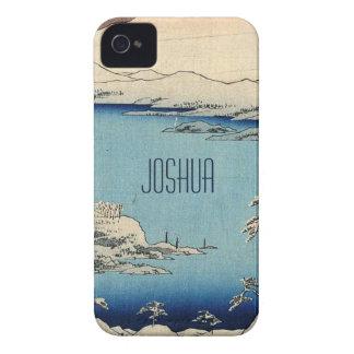 Ejemplo del japonés Nevado iPhone 4 Fundas