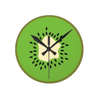 Ejemplo del kiwi reloj