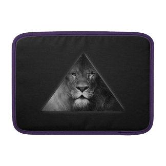 Ejemplo del león del horóscopo de Leo blanco y Fundas Macbook Air