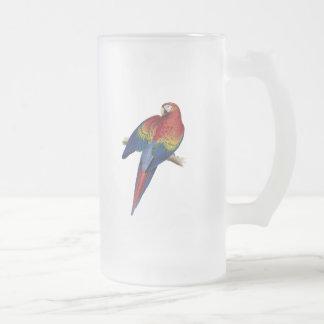 Ejemplo del Macaw del escarlata Taza De Café