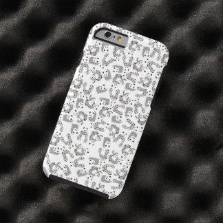 Ejemplo del modelo de las pandas del baile funda resistente iPhone 6