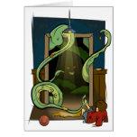 Ejemplo del monstruo del armario de los Undead Tarjeta De Felicitación