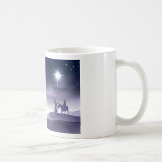 Ejemplo del navidad de la natividad de Maria y de  Tazas De Café