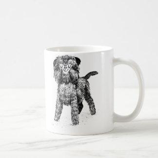 Ejemplo del perro del Affenpinscher Taza De Café