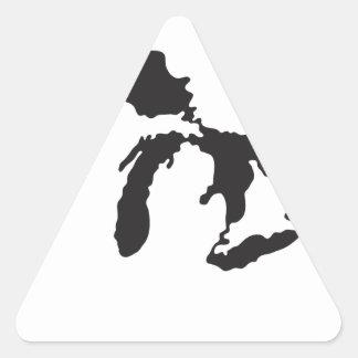 Ejemplo del personalizado de Great Lakes Colcomanias Trianguladas