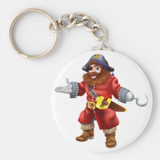 Ejemplo del pirata llavero personalizado