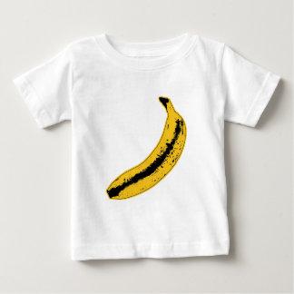 Ejemplo del plátano en estilo del arte pop playera