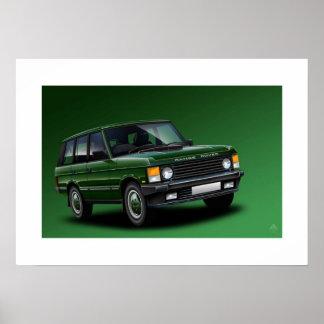 Ejemplo del poster de Range Rover Vogue