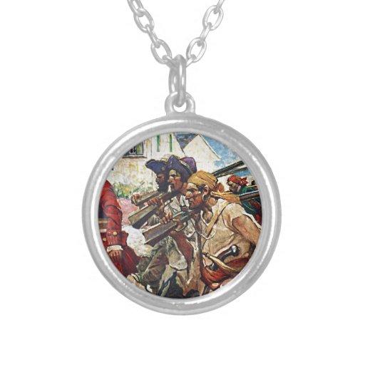 Ejemplo del Redcoat de los piratas que marcha Pendientes Personalizados