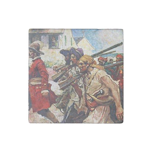 Ejemplo del Redcoat de los piratas que marcha: Imán De Piedra