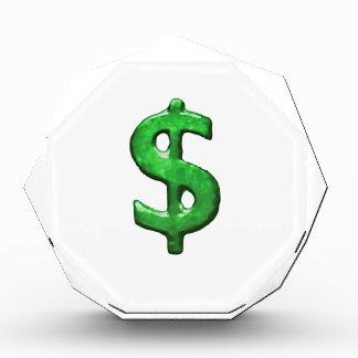 Ejemplo del símbolo de la muestra del dinero del