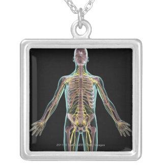 Ejemplo del sistema nervioso colgante cuadrado