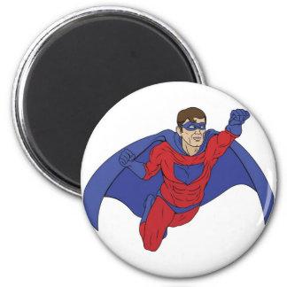 Ejemplo del super héroe imanes