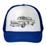 Ejemplo del taxi del inspector gorras de camionero