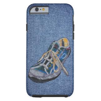 Ejemplo del tipo de la zapatilla de deporte funda de iPhone 6 tough