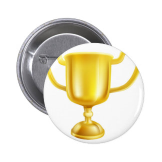 Ejemplo del trofeo del oro pin