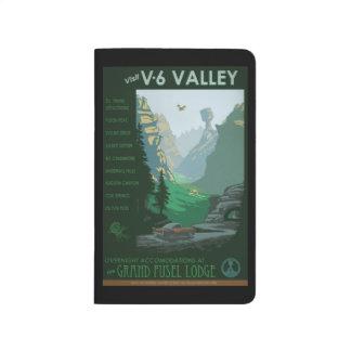 Ejemplo del valle V-6 Cuadernos Grapados