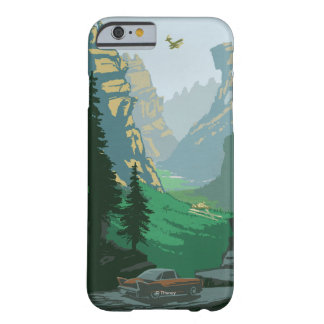 Ejemplo del valle V-6 Funda Para iPhone 6 Barely There