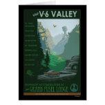 Ejemplo del valle V-6 Tarjetón