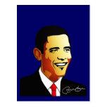 Ejemplo del vector de Barack Obama Postal